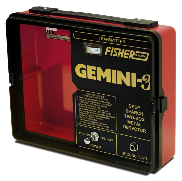 Gemini3-transmitter-750 face plate fisher 2