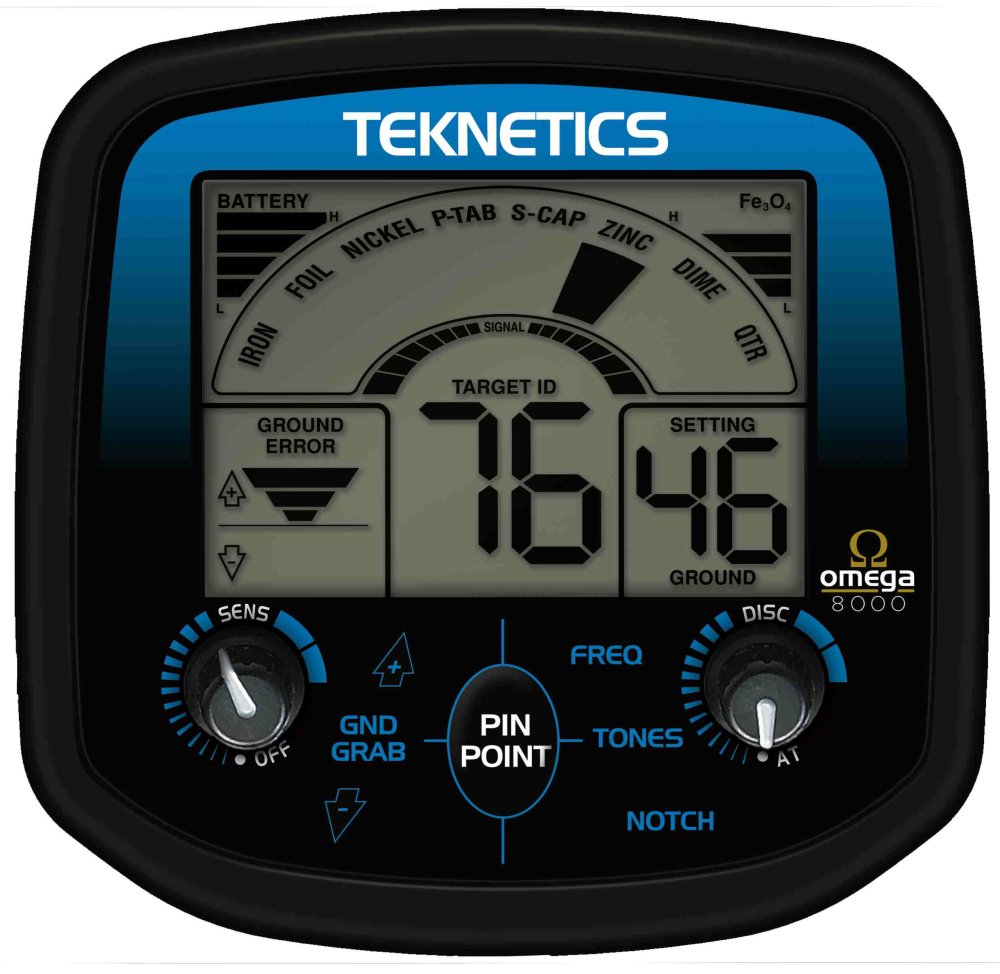 Teknetics_Omega_8000_face